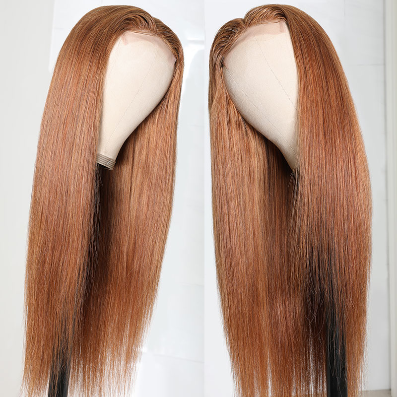 4x0.75 Inch Lace Size Middle Part Wigs
