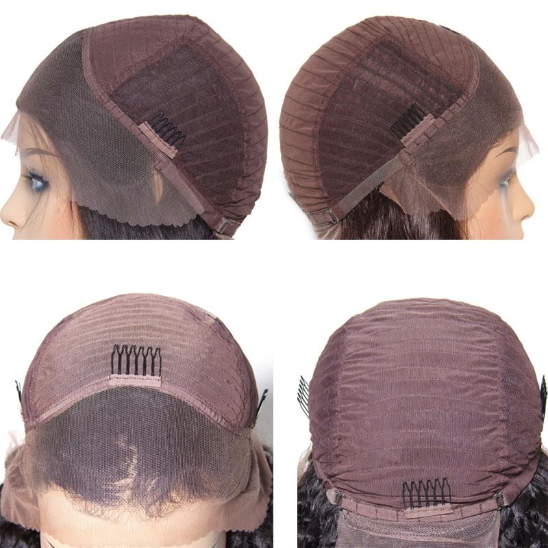 Nadula Short Bob Wig Lace Frontal 180% Density Wig