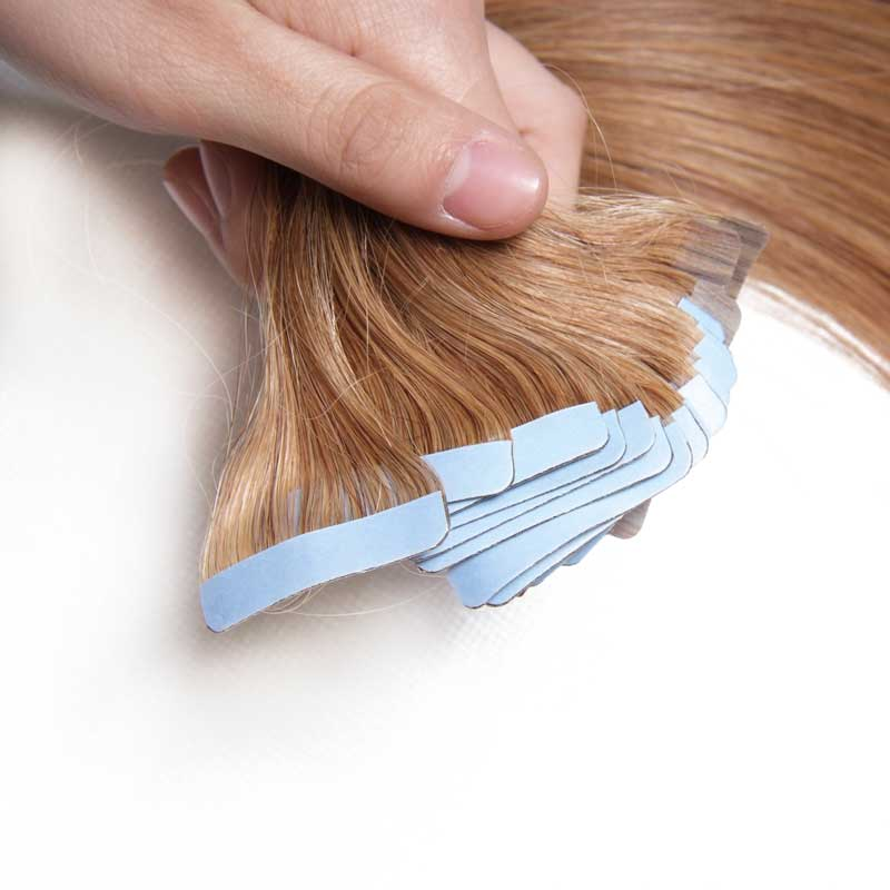 Nadula #12 Light Brown Invisible Tape Hair Extensions Cheap Tape In Extensions