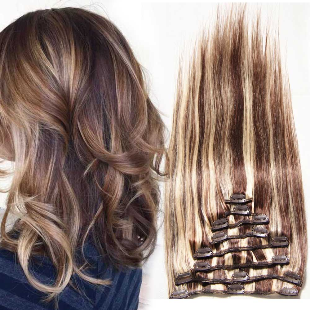 cheap clip on hair extensions