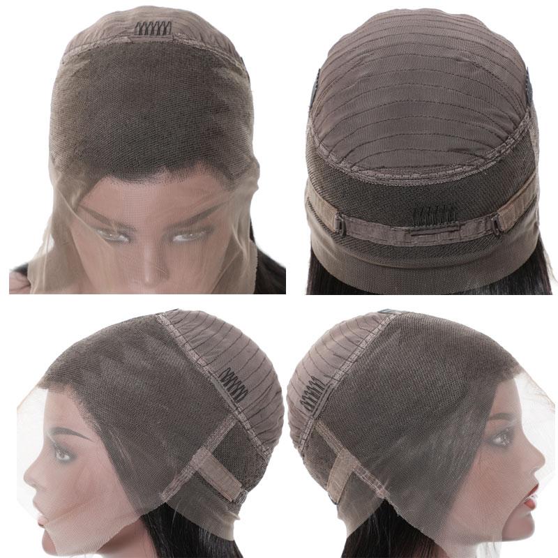 NadulaStraight 360 Lace Human Hair Wig