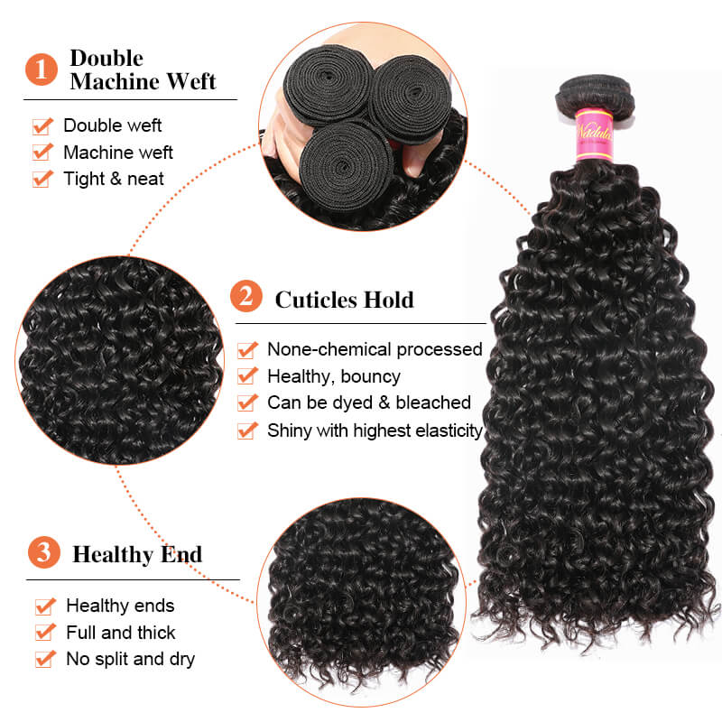 Nadula Jerry Curly Virgin Hair 3 Bundles