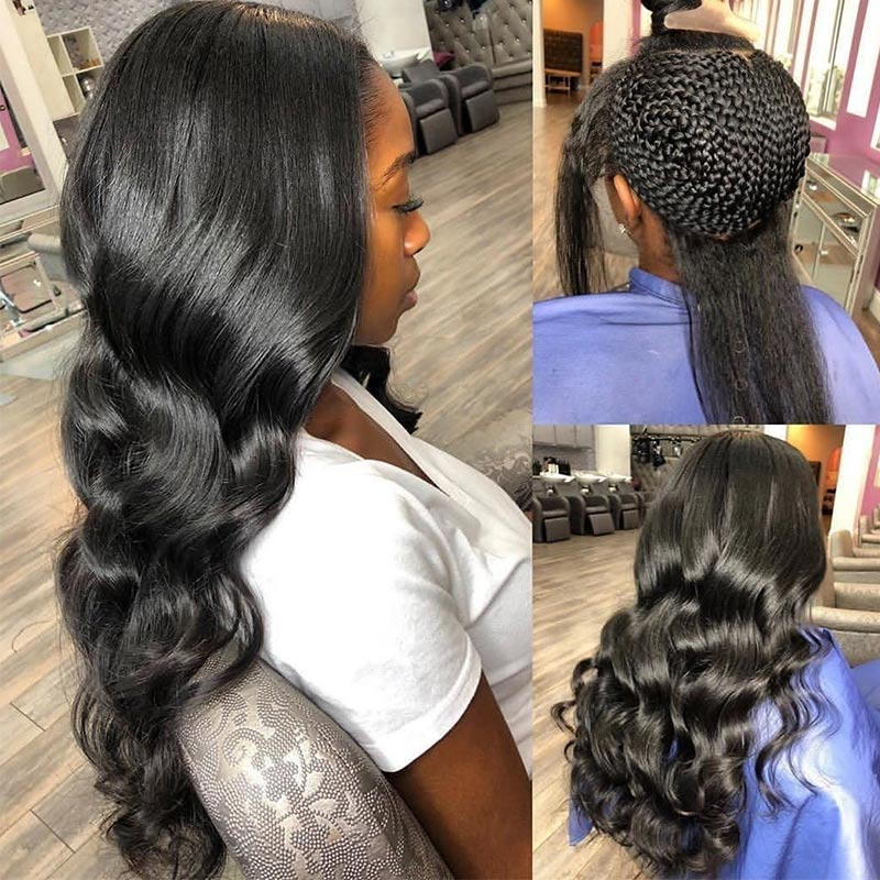 Glueless Wig Invisible Knots