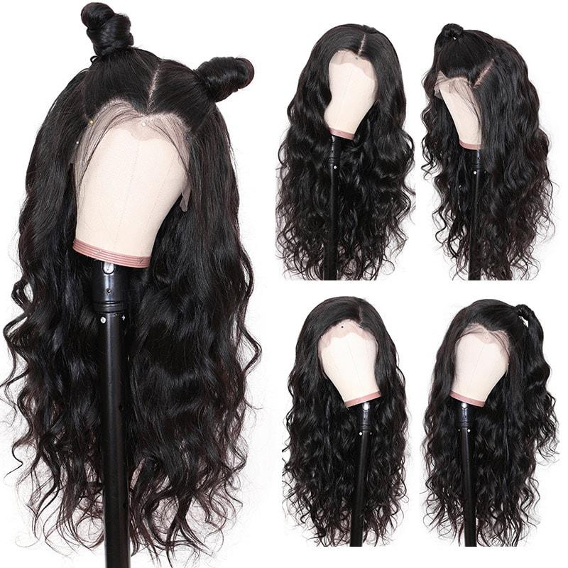 Wavy Brazilian Virgin Hair Weave