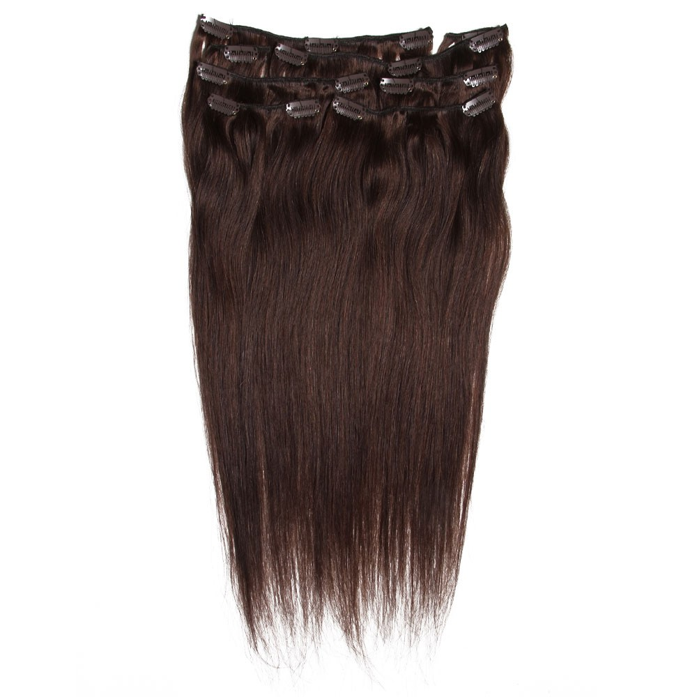 Nadula Best Affordable Clip In Hair Extension Straight Virgin Human