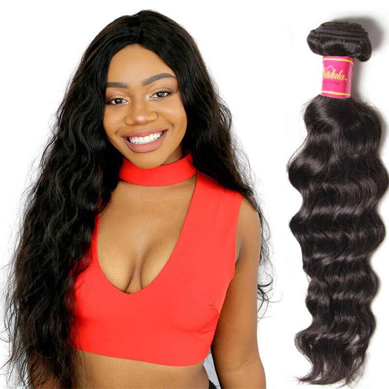 Nadula Real Virgin Brazilian Hair Weave Natural Wave 1 Bundle Cheap ... 7f438bbf5741