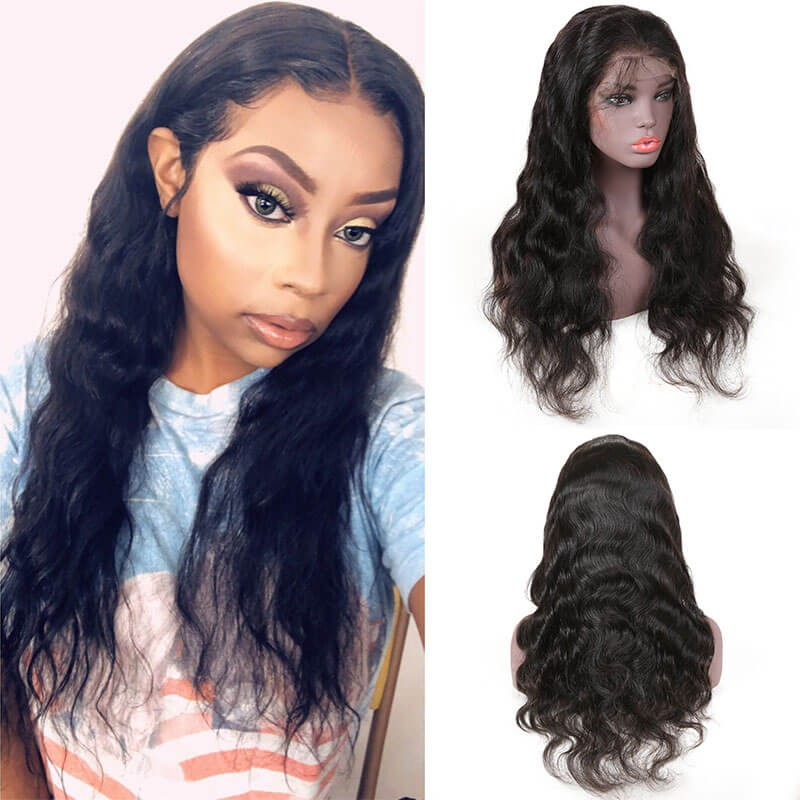 Nadula Lace Front Human Hair Wigs With Baby Hair Long Body Wave 8 ... 0c746de74
