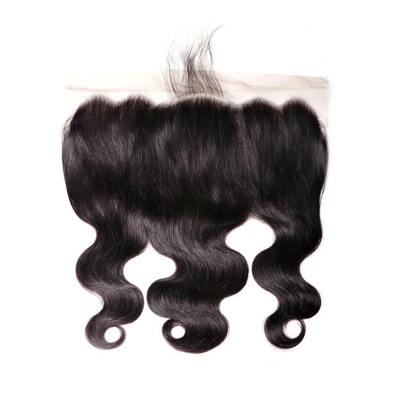 Nadula Body Wave Virgin Hair Frontal Lace Closure Human Hair 13*6 Inch