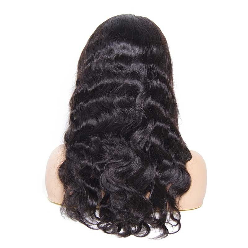 Nadula Full Lace Wigs Body Wave Virgin Hair 150% Density Human Hair Lace wigs