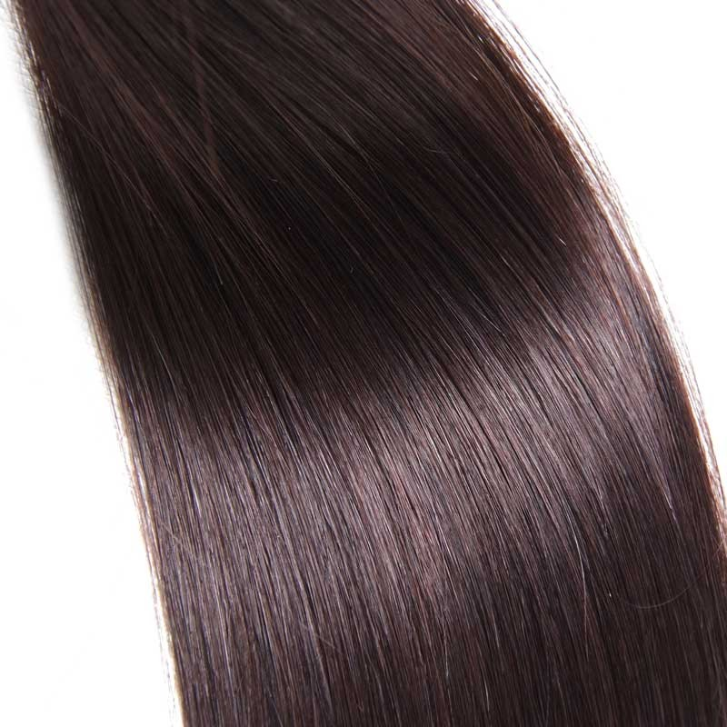Nadula Affordable Indian Straight Remy Human Hair Pre Bonded Keratin Fusion I Tip Hair Extensions 100g Natural Color