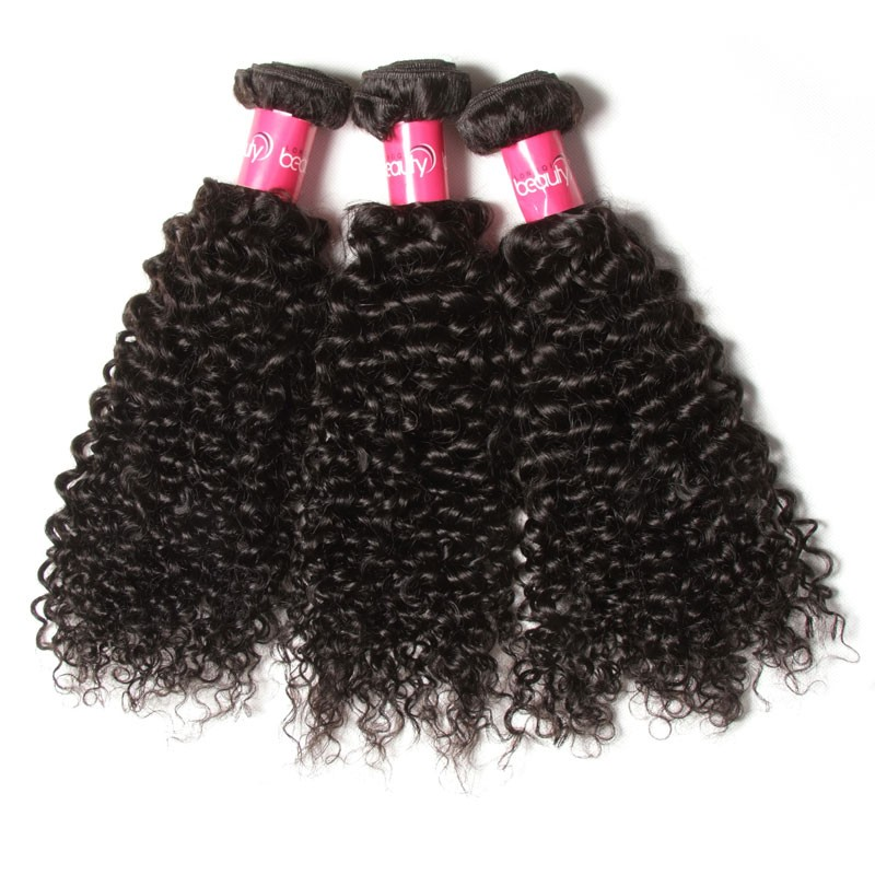 3 bundles curly hair