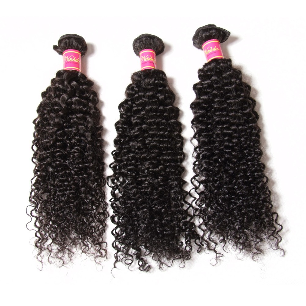 Nadula Real Virgin Brazilian Kinky Curly Hair Weave Human Hair Bundles Deals