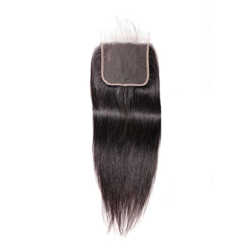 Nadula Straight Closure 5X5 100% Virgin Human Hair With Baby Hair