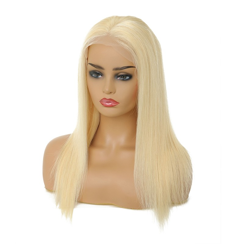 Nadula Remy Wig 100% Human Hair Lace Front Wigs 613 Color 150% Density Straight Wigs