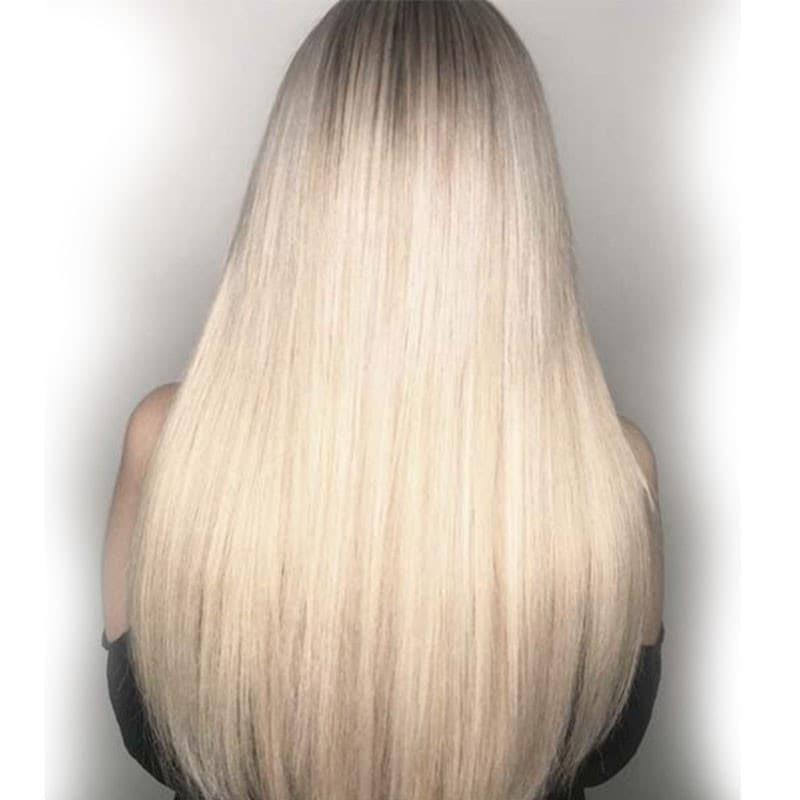 Nadula Body Wave Virgin Hair T1B/613 4 Bundles With Lace Frontal Closure