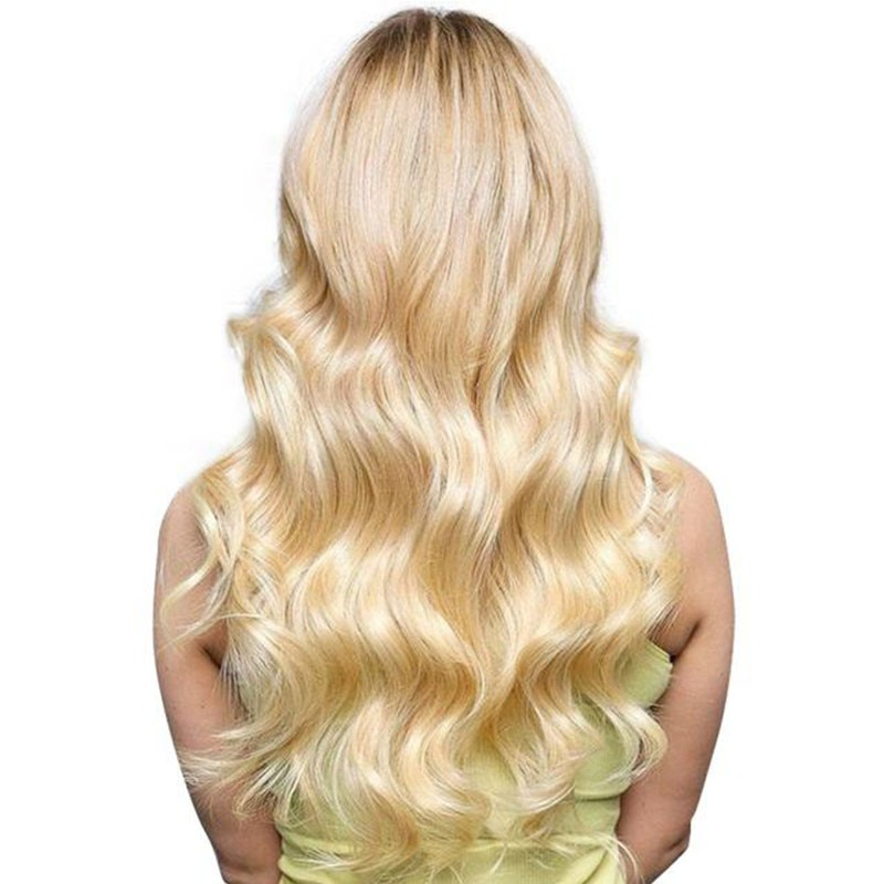 Nadula Human Hair Body weave Color 613 Blonde Hair 100% Remy Human Hair Weaving 4Bundles With Frontal Free Shippping