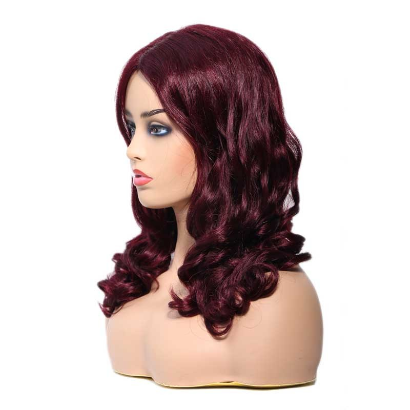 Nadula Human Hair Lace Wigs Cheap Price Awesome Lace Front Wigs With Baby Hair Color Wigs 99J
