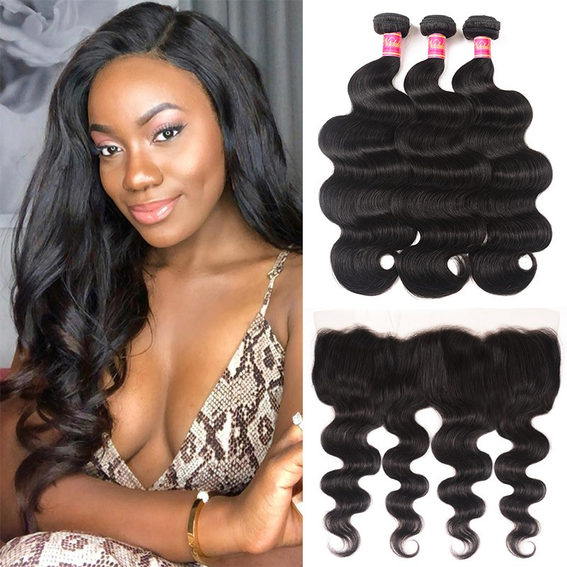 Bundles With Lace Frontal Closure