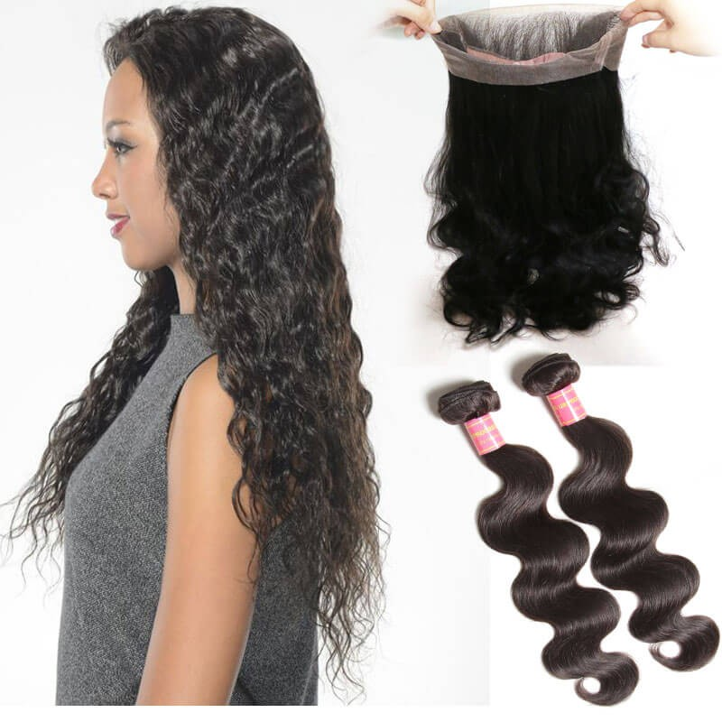 Best 360 Lace Frontal Closurehuman 360 Frontal With Bundles On Sale