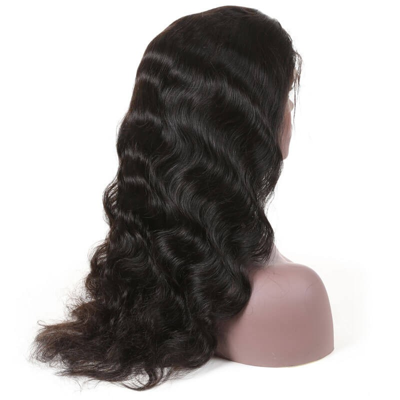 Nadula Lace Front Human Hair Wigs With Baby Hair 13*4 Long Body Wave Body Wave 130% Density Wigs