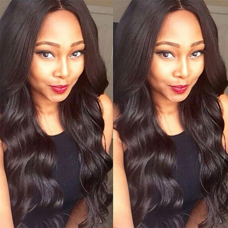 Quality Virgin Indian Hair Weave 3 Bundles Body Wave Nadula Ture Indian Body Wave Remy Human Hair