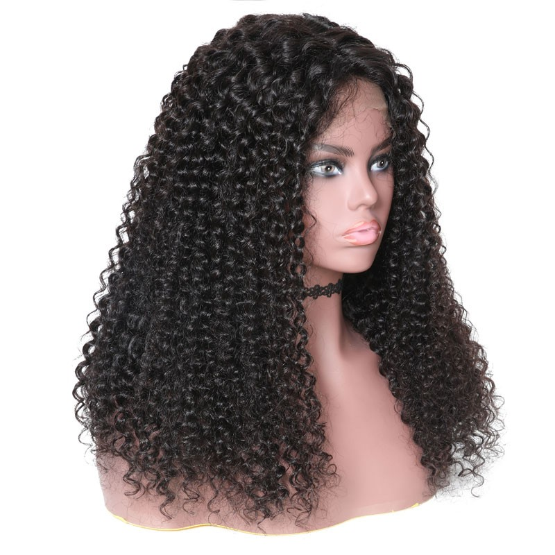 Nadula Lace Front Wigs 150% Density Jerry Curly100% Human Hair