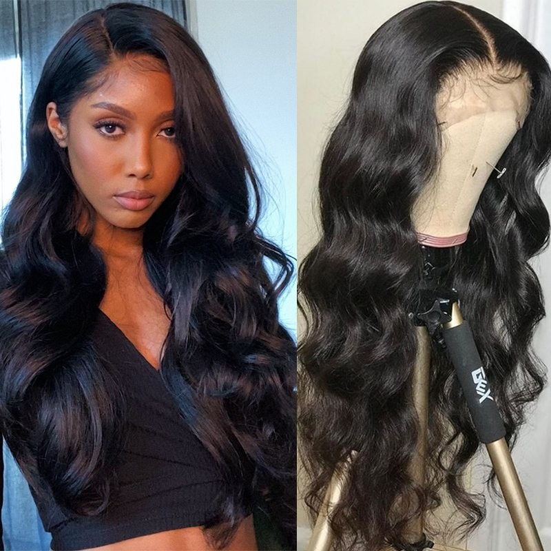 Nadula Lace Front Human Hair Wigs With Baby Hair Body Wave 150% Density Wigs