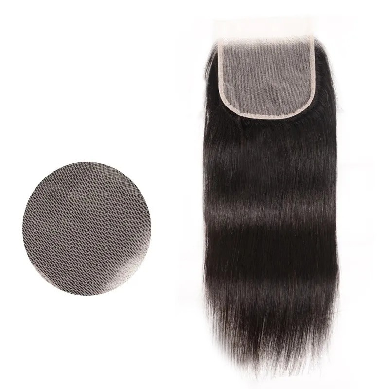 Nadula Straight Weave 5X5 Transparent Lace Closure Free Part Virgin Hair