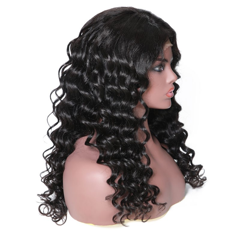 Nadula Wavy 13*6 Lace Front Virgin Wig Human Hair 150% Density Wigs High Quality Best Price