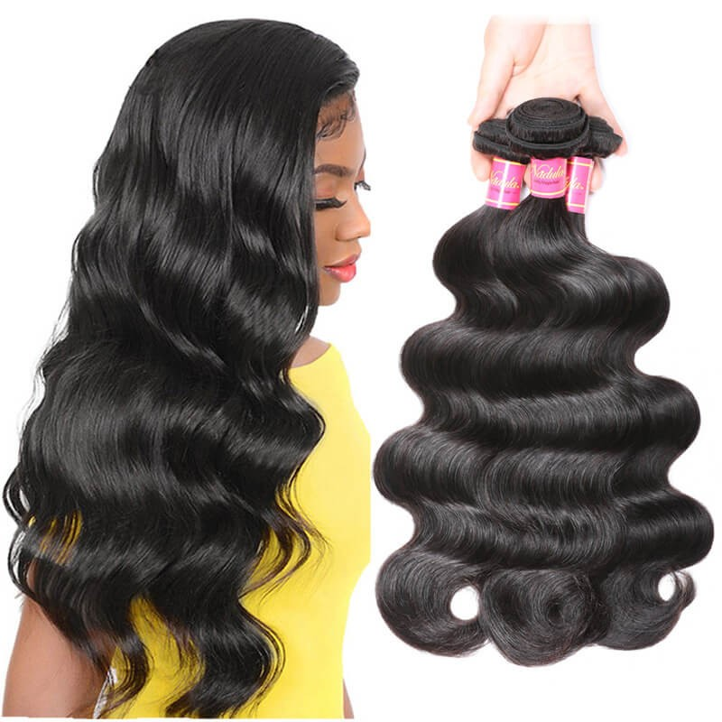 Nadula Wholesale Best Virgin Brazilian Body Wave Hair 3 Bundles