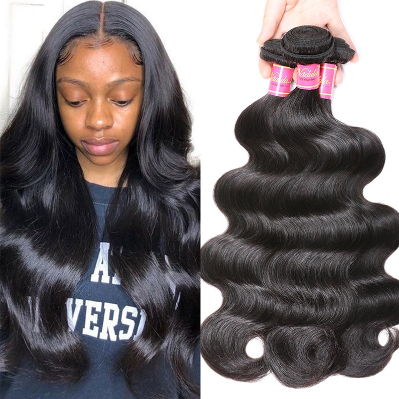 Nadula Wholesale Best Virgin Brazilian Body Wave Hair 3 Bundles Affordable Brazilian Virgin Human Hair Weave