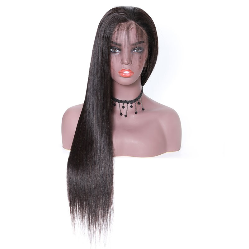Nadula Straight Hair 360 Lace Remy Human Hair Pre Pluck Wigs High Quality 150% Density Wigs