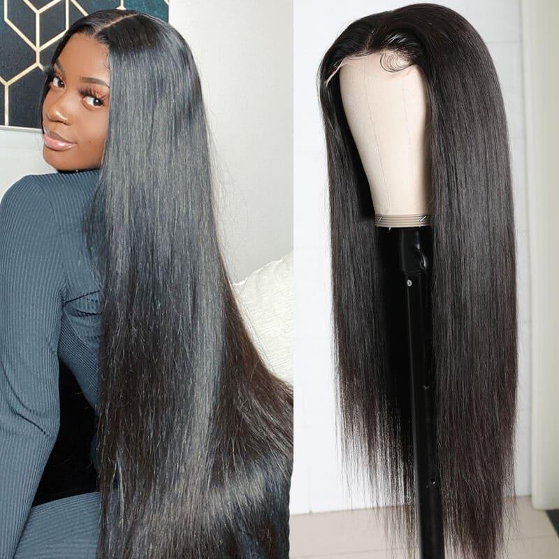 Nadula 5x5 Transparent HD lace closure Straight wig