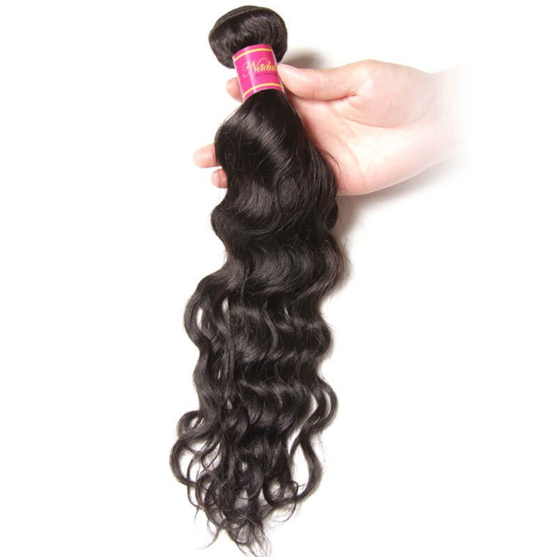 indian natural wave hair 3 bundles