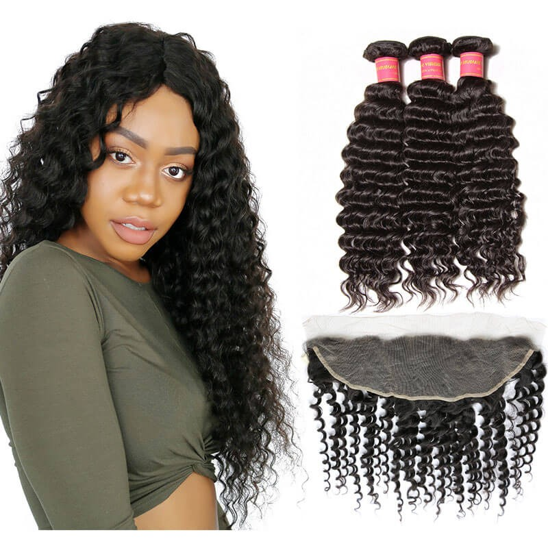 brazilian hair with frontal