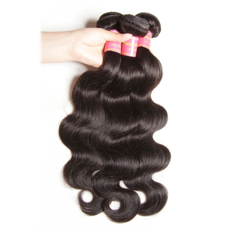 Nadula Hot Selling Virgin Brazilian Body Wave Hair 3 Bundles Deals Wavy Brazilian Virgin Hair Weave
