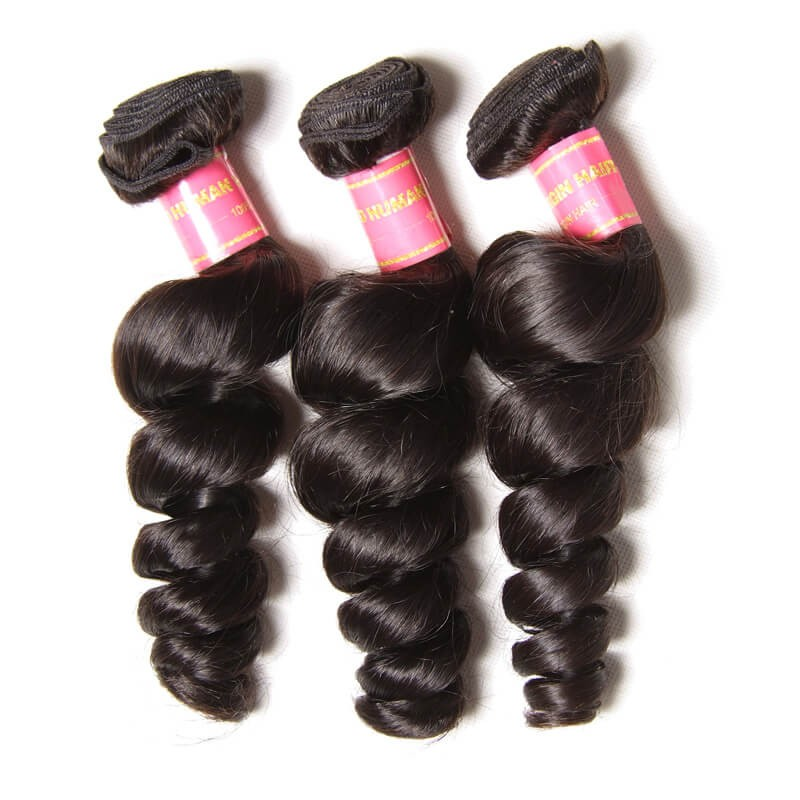 Nadula Wholesale Virgin Peruvian Loose Wave Hair 3Bundles Peruvian Wavy Hair On Sale