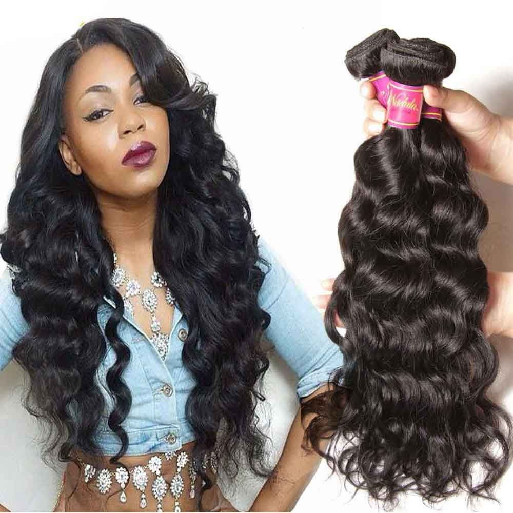 Cheap Peruvian Natural Wave Hair Weave Natural Wavy Peruvian Virgin