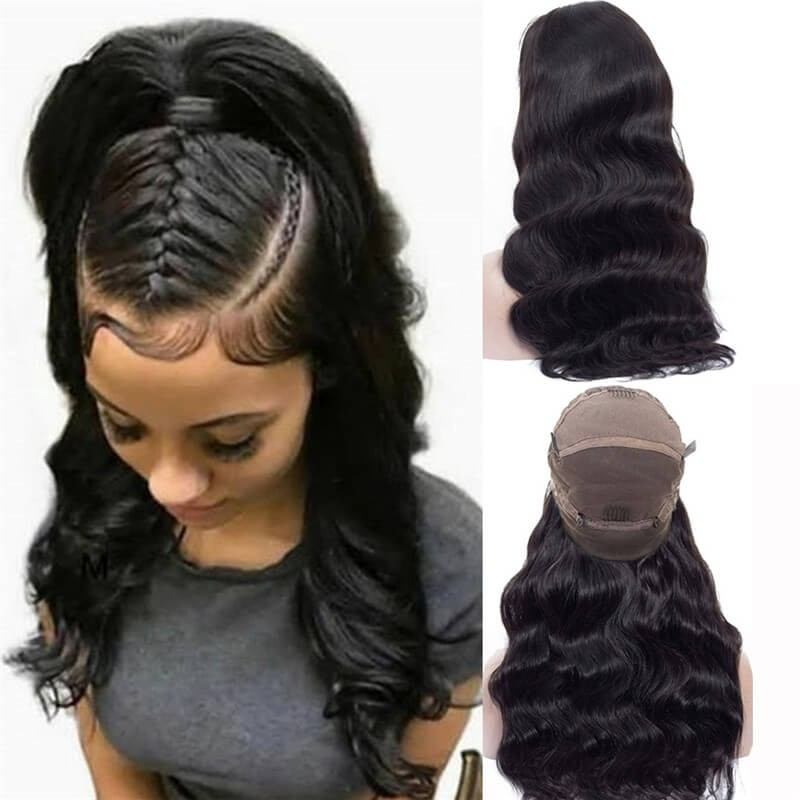 Nadula Full Lace Wigs Body Wave Virgin Hair 180% Density Human Hair Lace wigs