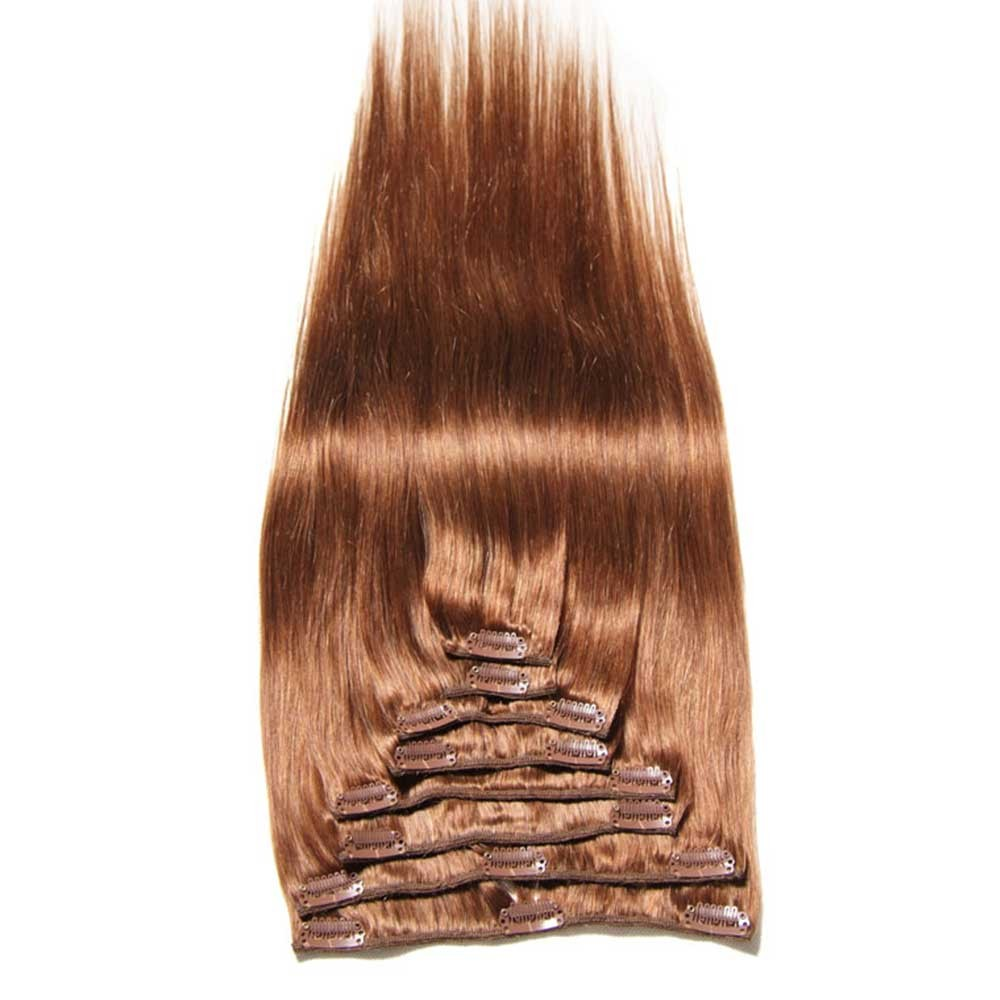 Nadula Affordable Remy Natural Clip In Extensions For Thin Hair Virgin Human Hair Extensions
