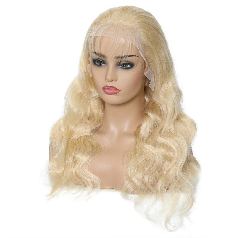 Nadula Remy Lace Front Wig 100% Human Hair Wigs 613 Color 150% Density Body Wave Wigs