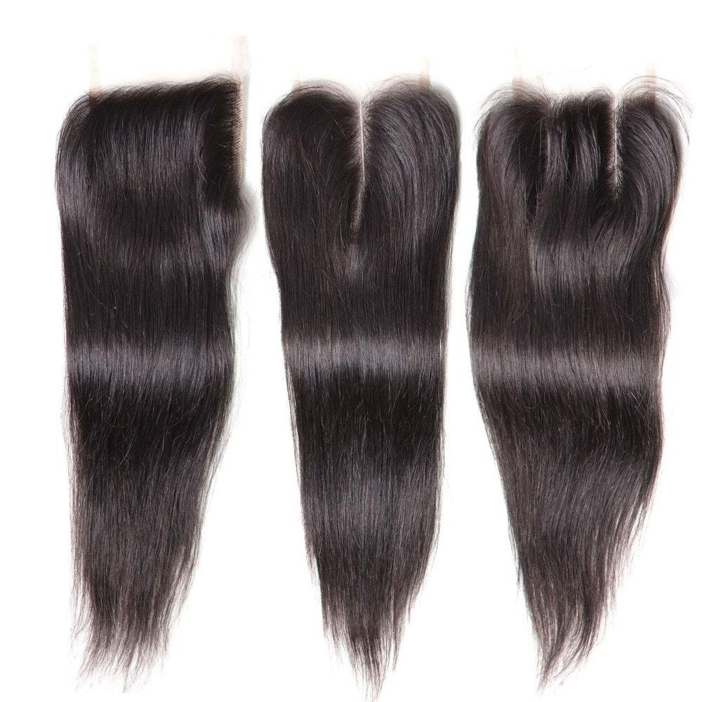 brazilian straight hair lace closure