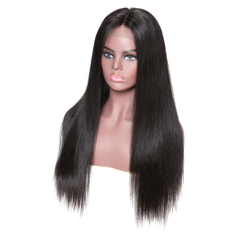 Nadula Silky Straight 13x6 Lace Front Wig 150% Density 100% Human Hair Wig