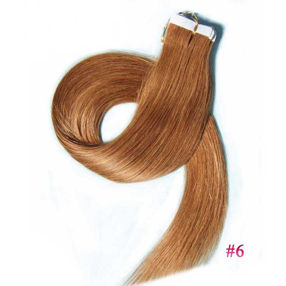 Real Remy Human Tape In Hair Extensions Cheap Skin Weft Tape Hair