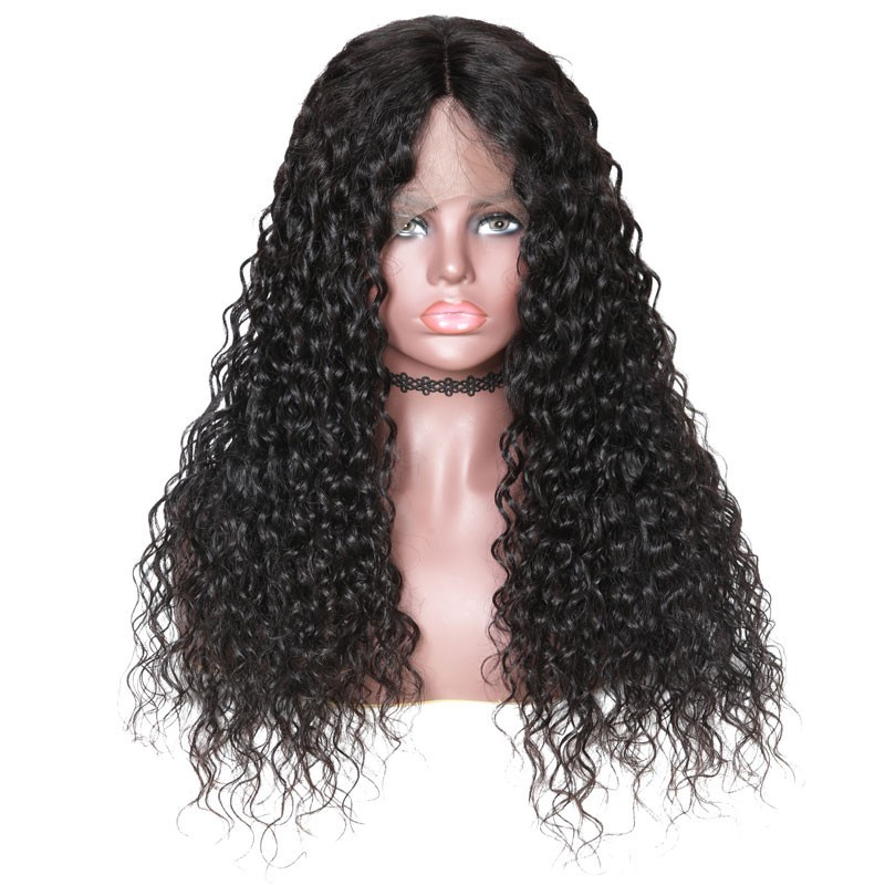 Nadula High Quality Latest Fabulous Lace Front 150% Density Wigs 100% Human Hair Water Wave
