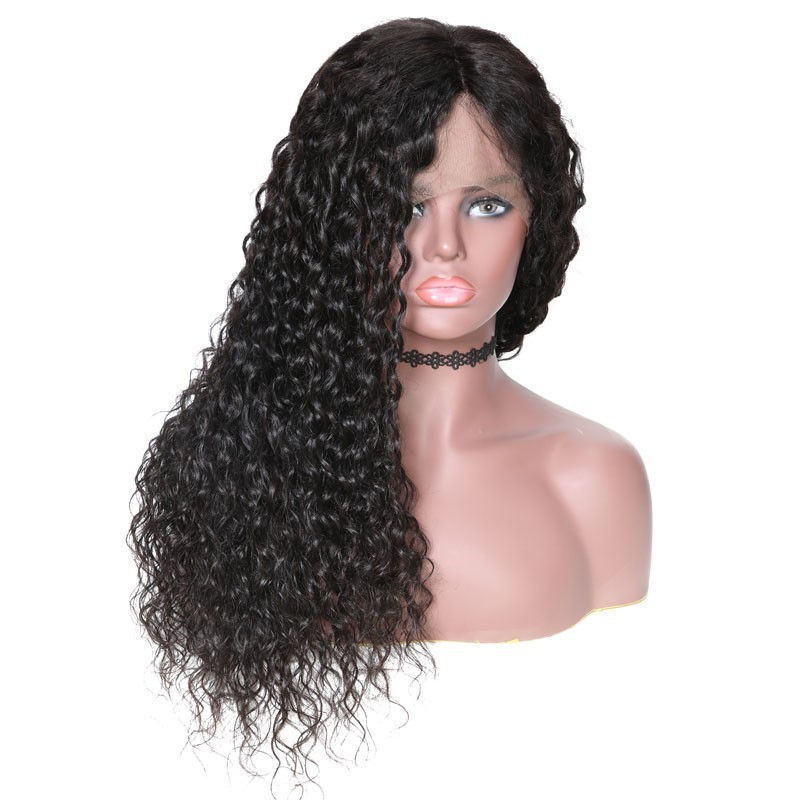 Nadula High Quality Latest Fabulous Lace Front 130% Density Wigs 100% Human Hair 13*4 Water Wave