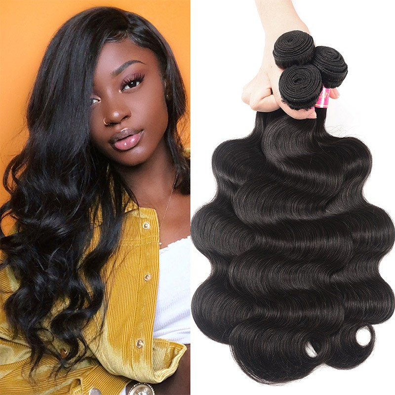 Nadula 3 Bundles Virgin Brazilian Body Wave Hair