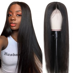 Nadula 13x4 Lace Front Wigs With Baby Hair 150% Density High Quality Human Hair Wigs Silky Straight Virgin Hair