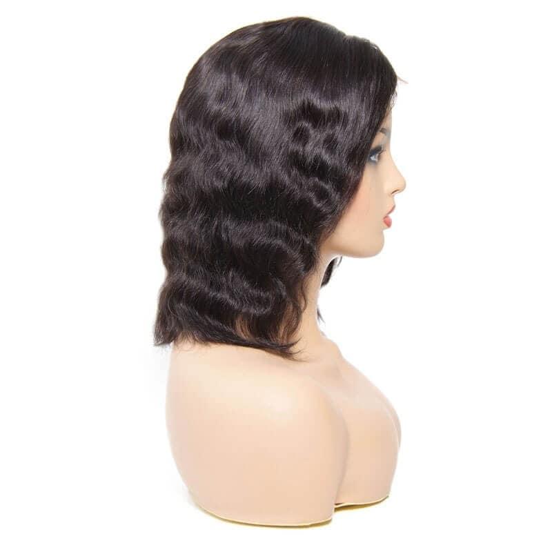 lace front bob wig human hair