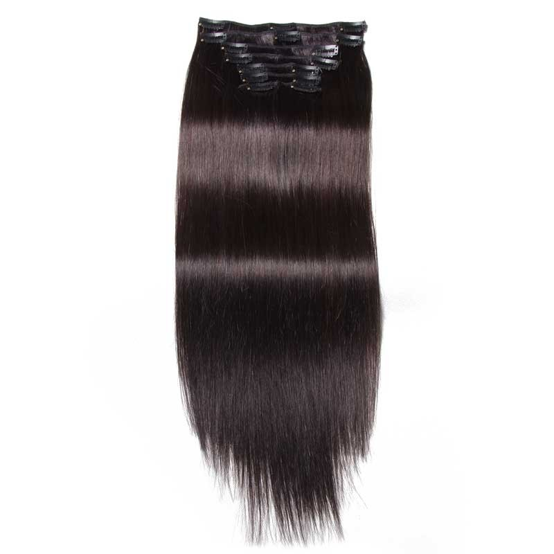 Nadula Best Clip In Hair Extensions Real Human Hair Clip In Extensions